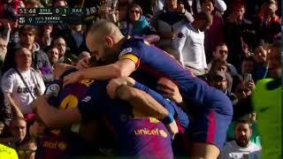 Ρεάλ Μαδρίτης - Μπαρτσελόνα 0-3 {23.12.2017}