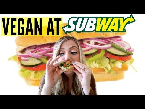 VEGAN at SUBWAY! Best Vegan Fast Food Options!