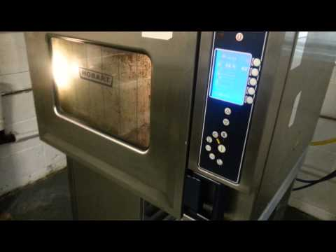 Hobart Commercial 6 Grid Combi Steam Oven - Forest Catering Equipment
