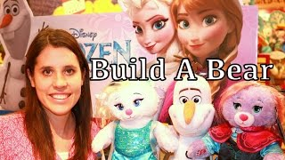 Frozen Toy Hunting Elsa Disney Princess Anna Olaf Summer Song Let It Go Build A Bear Workshop