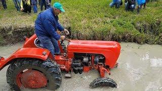 Traktory BUJANOV 2018 - závod v bahně