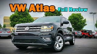 2018 Volkswagen Atlas: FULL REVIEW + DRIVE | Forget Microbus, the Megabus is Here!