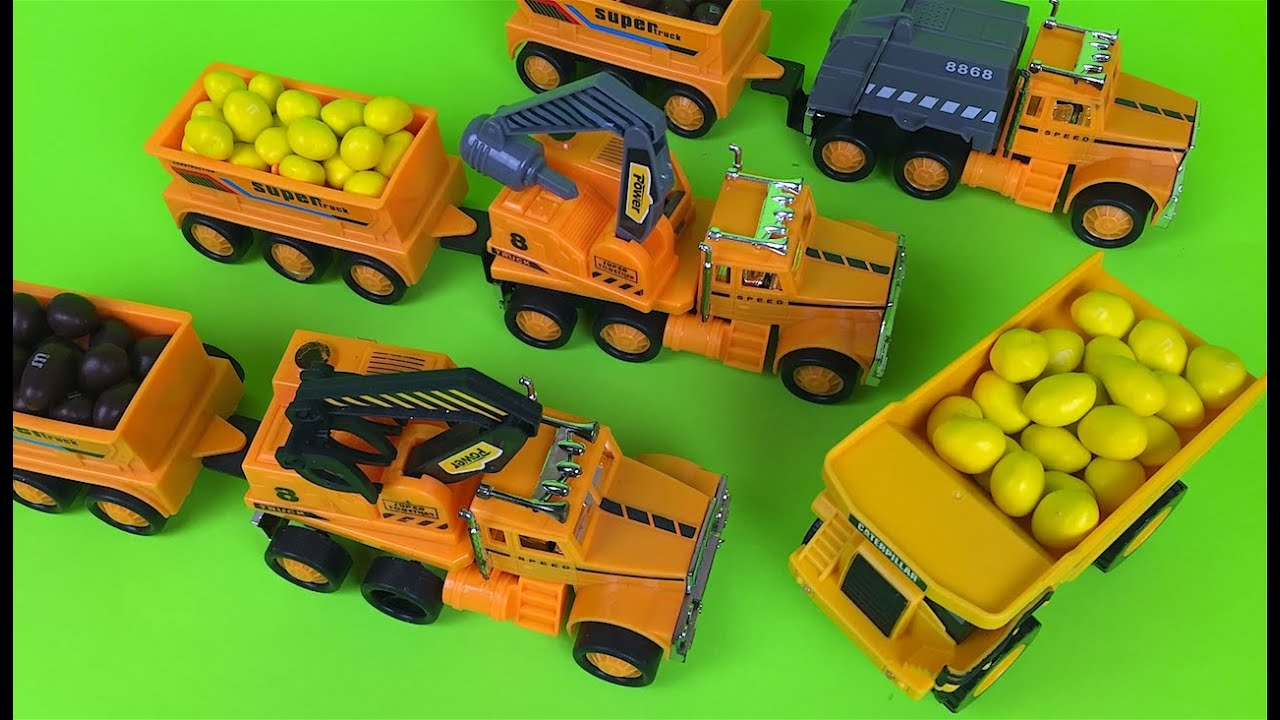 Construction Play Toys : Truck mechanism zone play set construction toys for kids