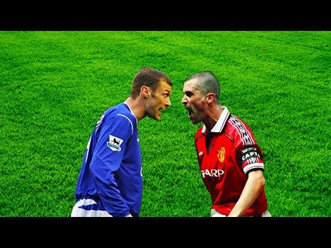 Roy Keane Vs Duncan Ferguson●Wild Moments