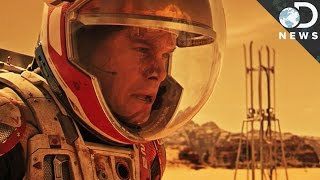 The Martian: DNews Interviews Matt Damon, Andy Weir, & Dr. Jim Green