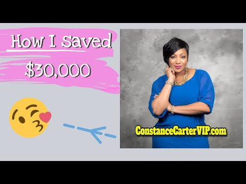 How I saved $30k in 1 year using spare change