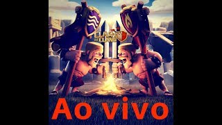AO VIVO NA BASE DO CONSTRUTOR CLASH OF CLANS JP CLASH