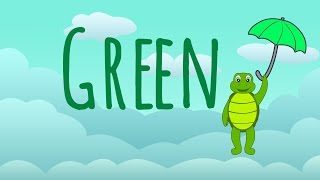 The Color Green Song – Learn Colors Songs The Green Song Preschool Toddlers by 123 ABC tv