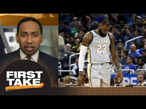 Stephen A. Smith says Cavaliers 'look pathetic' | First Take | ESPN