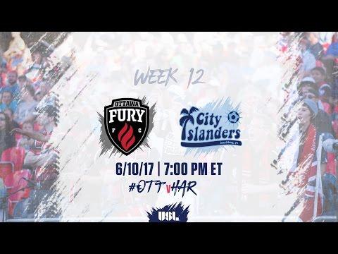 USL LIVE - Ottawa Fury FC vs Harrisburg City Islanders 6/10/17
