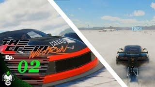 Ep.02 Salt Lake Drag Corvette - Crew Wild Run BETA 1080p60 (PC)