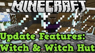 Minecraft Xbox 360 + One: WITCH & WITCH HUT - New Mob In TU18