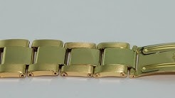 how to made one gold oyster watch band link