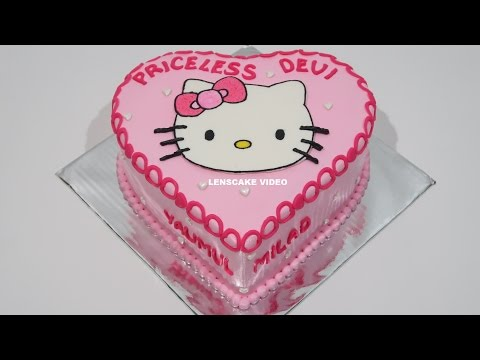 Hello Kitty Cake Love How To Make Birthday Cake Youtube