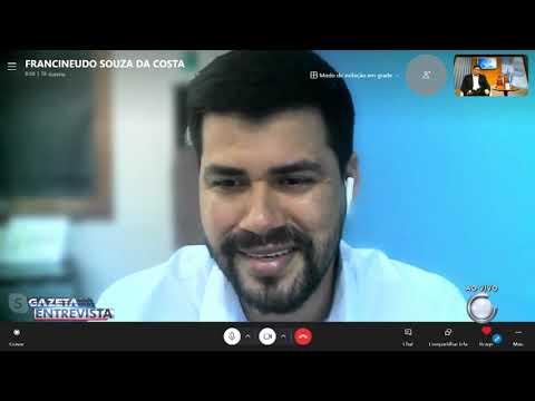 3° Bloco: Gazeta Entrevista com Francineudo Costa