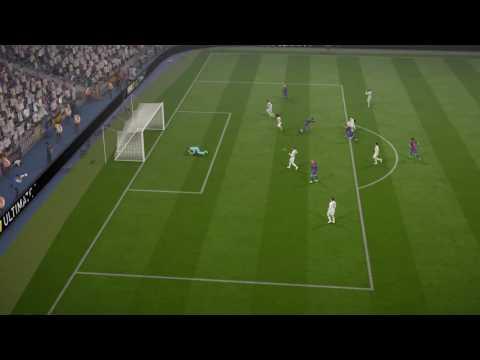 FIFA 17 Iniesta goal V R Madrid