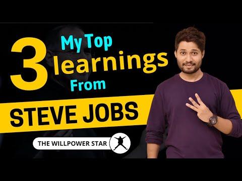 3 Best Learnings for Entrepreneurs from Steve Jobs | Willpower Star | Mangesh Shinde |