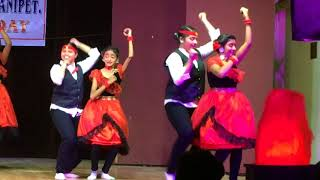 DAV-BHEL School Annual Day - Salsa Dance