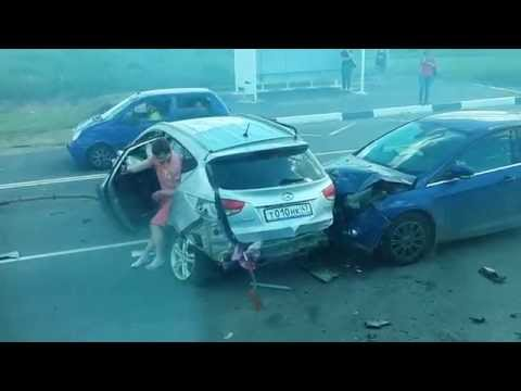 Жуткая авария на Мурманском шоссе 13.06.15