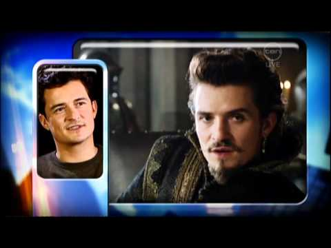 Orlando Bloom interview on The 7pm Project (2011)