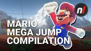 18 Crazy, Incredible Super Mario Odyssey Jumps & Stunts | #MarioMegaJump Compilation