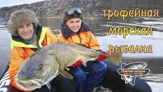 ТРОФЕЙНАЯ МОРСКАЯ РЫБАЛКА БАРЕНЦЕВО МОРЕ TROPHY FISHING SALTWATER BARENTS SEA