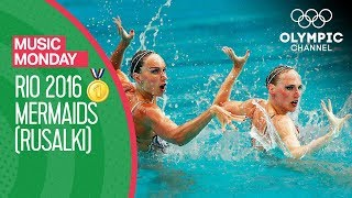 Romashina & Ishchenko's Rio 2016 Gold Medal performance to Mermaids (Rusalki) | Music Monday