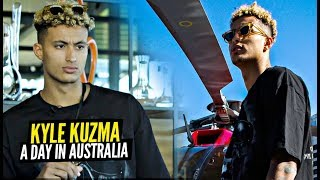 A Day With Kyle Kuzma In Australia! How The Lakers Forward Spends His Time Off Court