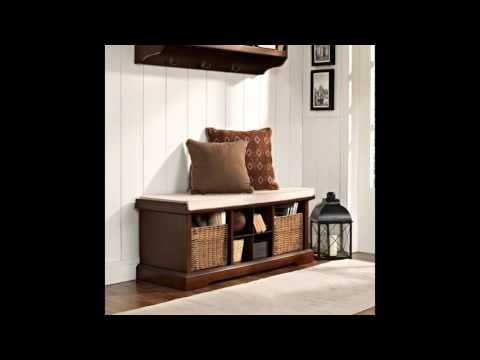 solid wood benches for entryway