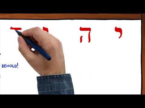 """""""YHVH"""" in ancient Hebrew!"""