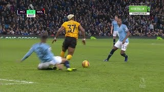 Adama Traoré vs Manchester City  (Away) 14/01/2019  EPL