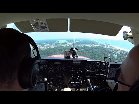 Father & Son Trip to N. Myrtle Beach / Grand Strand in my Cessna Skyhawk for Lunch with ATC.