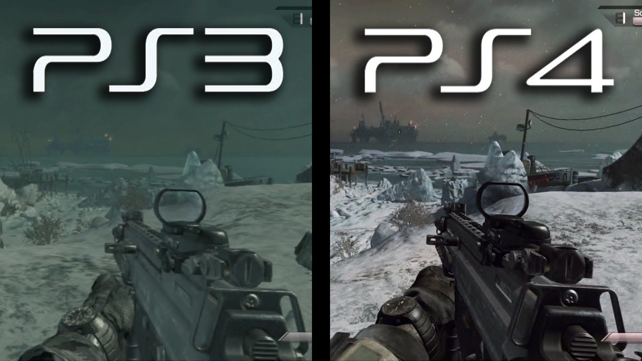 Ghosts: PS3 vs. PS4 Gameplay Comparison (Current Next Gen ...