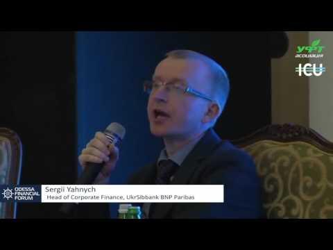 Sergii Yahnych, BNP Paribas + Ruslan Kilmukhametov, Director, ICU, Debt Capital Markets