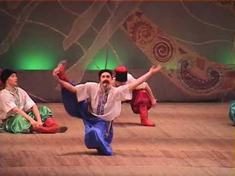 Ансамбль танца имени Павла Вирского. Отчётный концерт. 2004 г.