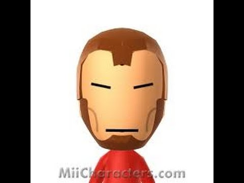 How To Make Iron Man On Mii Maker Pt 1 W Bbgs Youtube