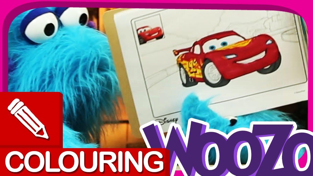 Lightning Mcqueen Kleurplaten.Kleurboek Cars Lightning Mcqueen Kleuren Voor Kinderen Disney Pixar