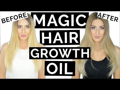 MAGIC Hair Growth Oil For Longer Thicker Hair!