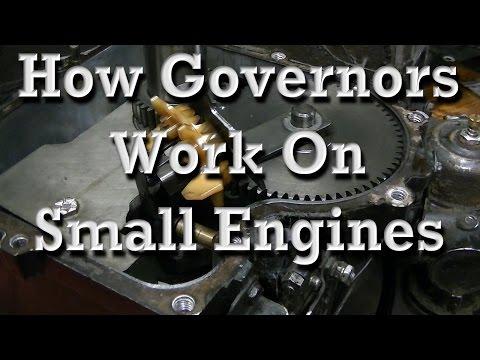 How Small Engine Governors Work (any governor setup)