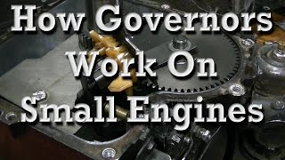 How Small Engine Governors Work (any governor setup)