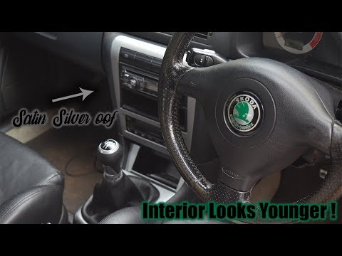 How to Vinyl Wrap Interior Trim Pieces 3