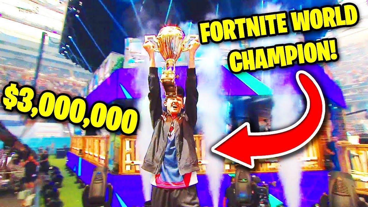 THIS PLAYER WON $3,000,000 (FORTNITE WORLD CUP WINNER) | Fortnite Battle Royale