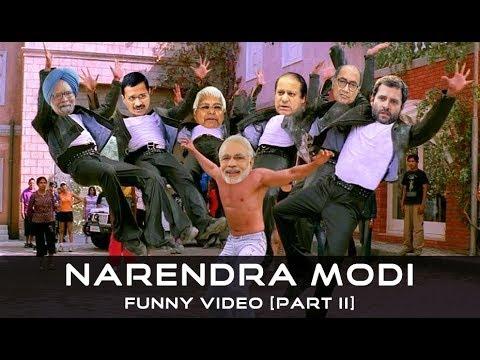 Narendra Modi (BJP) Vs Rahul Gandhi (Congress) Funny Video