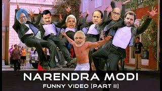 Narendra Modi Funny Video [Part II] | Modi vs Rahul Gandhi | Modi vs Manmohan Singh