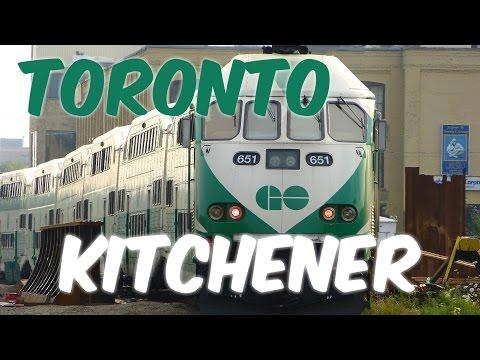 Go Transit Train 651 - Toronto to Kitchener North Side Window Digest