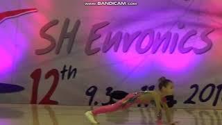 Sport aerobic NG-IW RUS Lisiachenko Sofia CZECH AEROBIC OPEN ZLIN
