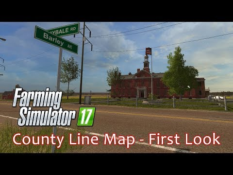 County Line Map USA (PC) - First Look - Farming Simulator 17