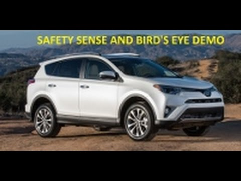 2017 Toyota Rav4 Limited Awd In Blizzard Pearl White Review And Walk Around Test Drive