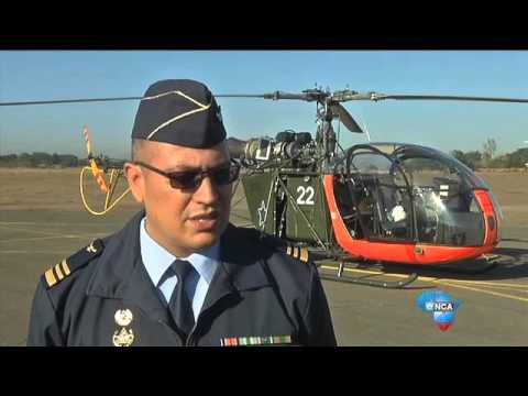 Would you put your money on a military helicopter, or the Gautrain?