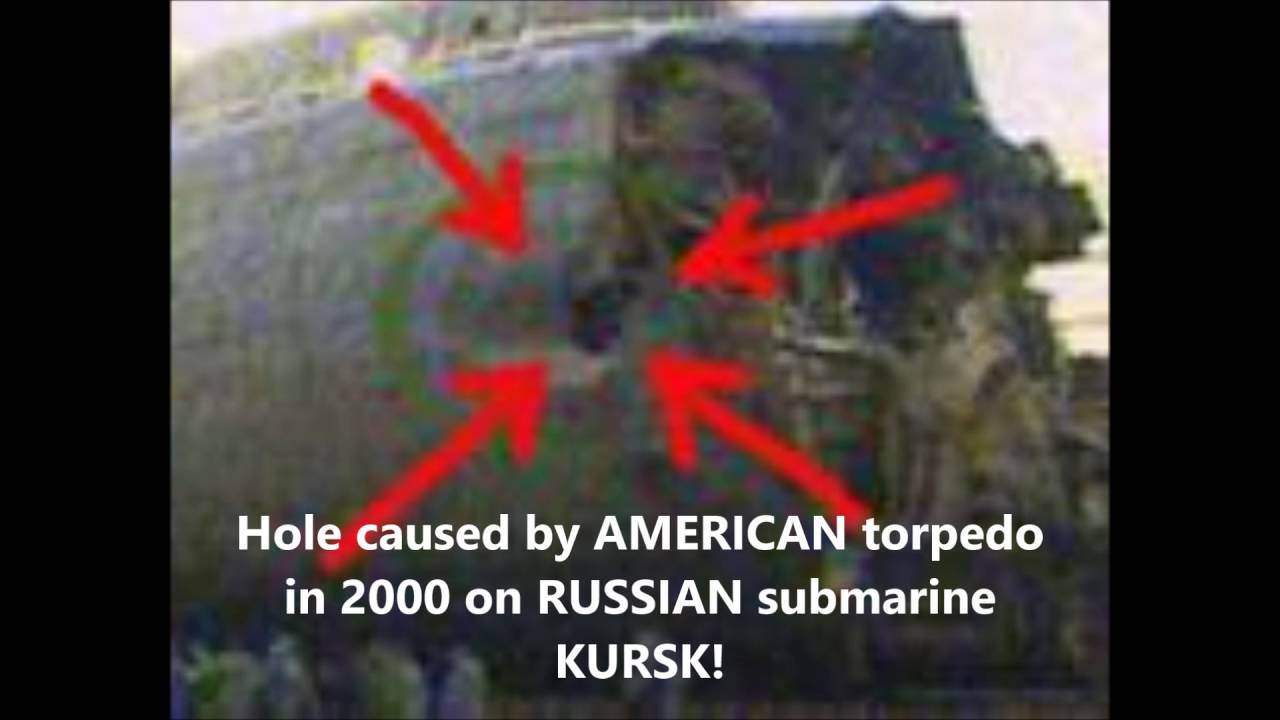 N.A.T.O. Jesuits Torpedoed Russian Kursk (2000) - 118 Sailors ...